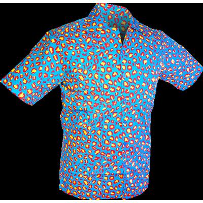 Foto van Chenaski | Overhemd korte mouw, Coloured leo