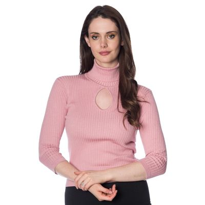 Foto van Coltruitje Louise ribbed knit, roze