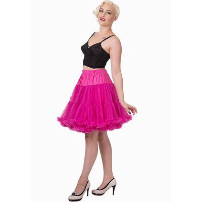 Foto van Petticoat Walkabout Knielang met extra volume, hot pink