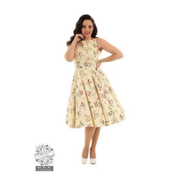 Hearts & Roses - Swingjurk Bridget bloemen print