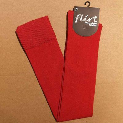 Flirt | Overknee sokken rood