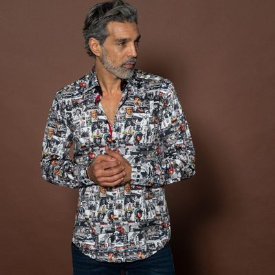 Foto van Overhemd met lange mouw, Steve MC-Queen