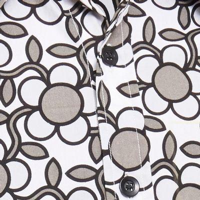 Foto van Chenaski   Overhemd Seventies Flowergrid, grey