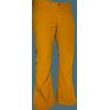 Afbeelding van Ribcord retro broek mosterd geel, wijde pijp normale lengte
