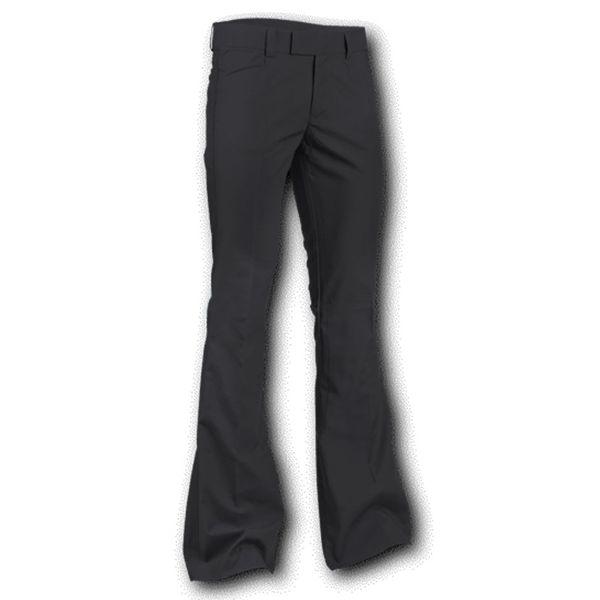 Chenaski   Pantalon met uitlopende pijp Zwart