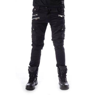 Foto van Broek Anders, met ritsen O-ring en zakken, zwart