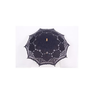Foto van Pentagramme | Paraplu van geborduurd katoen