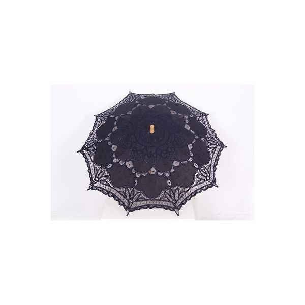 Pentagramme | Paraplu van geborduurd katoen