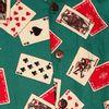 Afbeelding van Chenaski | Overhemd korte mouw, Cards turquoise