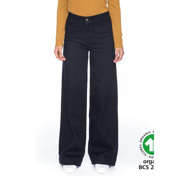 ATO Berlin   donkere Jeans met wijde rechte pijpen Lacy