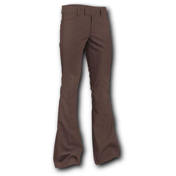 Chenaski | Pantalon met uitlopende pijp Bruin