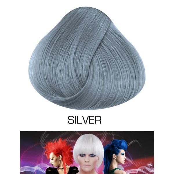 Directions   Semi Permanente Haarverf Silver (voor gebleekt haar)
