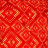 Afbeelding van Chenaski | korte mouw 70's jurk, Rhombus rust