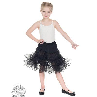 Foto van Hearts & Rose | Kinderpetticoat, zwart