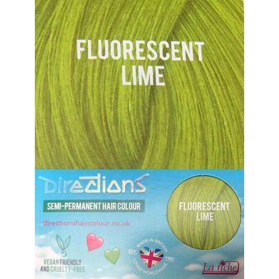 Foto van Directions | Semi Permanente Haarverf Fluorescent Lime
