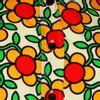 Afbeelding van Chenaski   dames blouse Flowergrid, creme