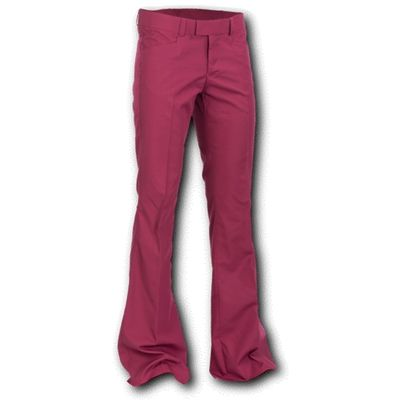 Foto van Chenaski   Pantalon met uitlopende pijp, bordeaux