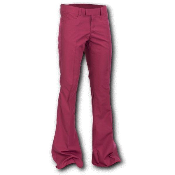Chenaski | Pantalon met uitlopende pijp, bordeaux