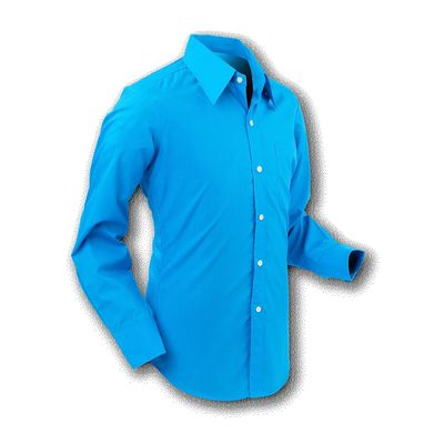 Chenaski | Overhemd 70s Basic Turquoise