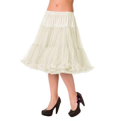 Foto van Petticoat Starlite over de knie met extra volume, ivory