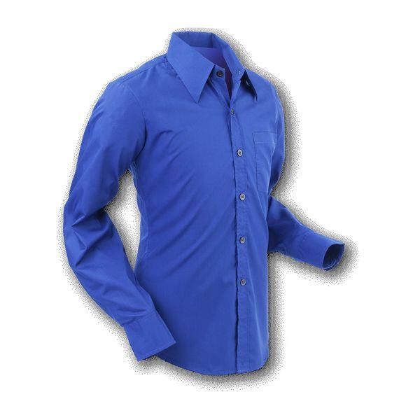 Chenaski   Overhemd 70s Basic Navy Marine