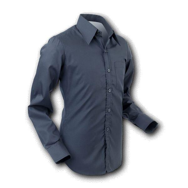 Chenaski | Overhemd 70s Basic Black
