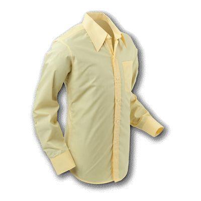 Chenaski | Overhemd 70s Basic Yellow