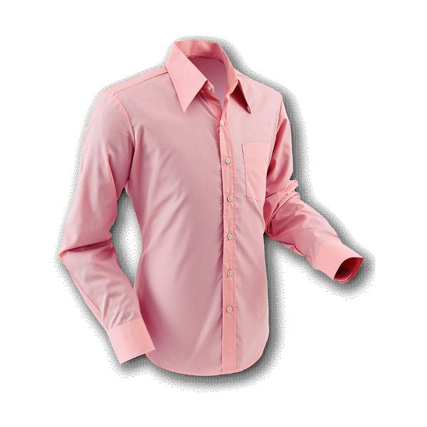 Chenaski | Overhemd 70s Basic Old-Rose