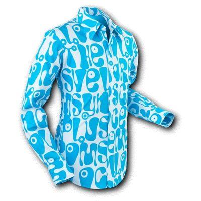 Overhemd Moloko Grey Blue