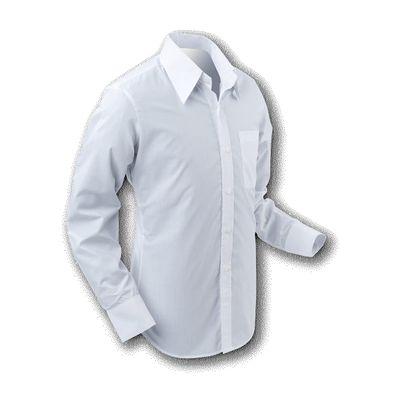 Foto van Chenaski | Overhemd 70s Basic White