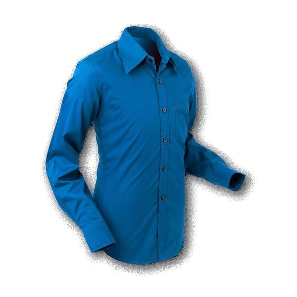 Chenaski   Overhemd 70s Basic Blue