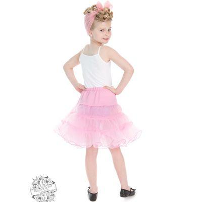 Foto van Hearts & Roses | kinderpetticoat, roze