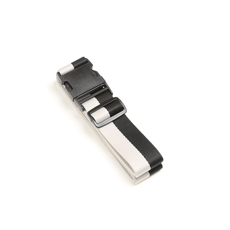 LUGGAGE STRAP - BLACK/WHITE