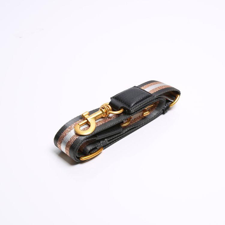 Afbeelding 2 van STRAP BLACK - GOLD - BLACK