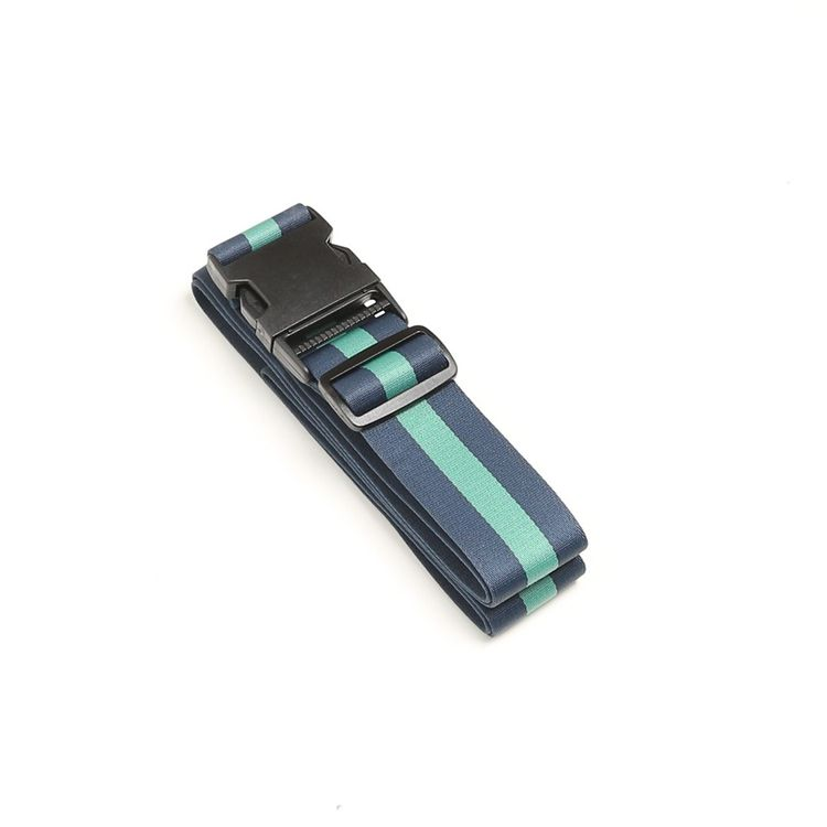LUGGAGE STRAP - BLUE/GREEN