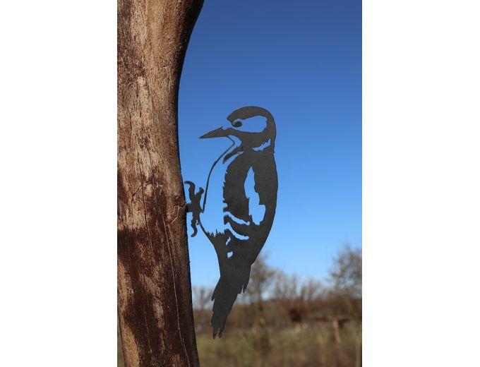 Afbeelding van Vogel Cortenstaal - Specht