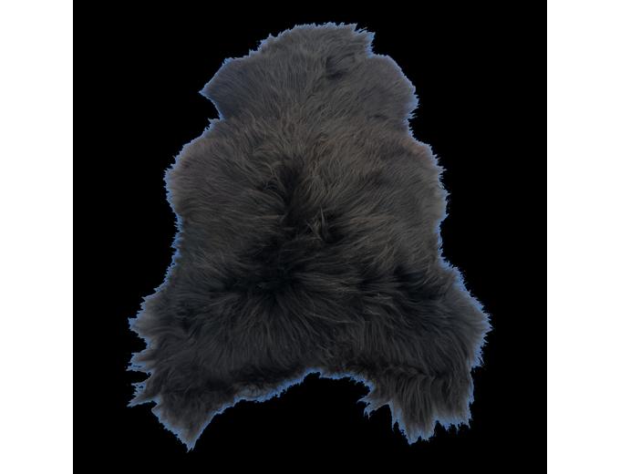 Afbeelding van IJslands schapenvacht – ZWART M