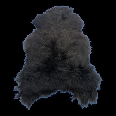 Foto van IJslands schapenvacht – ZWART M