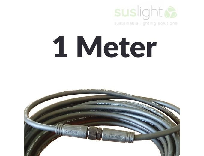 Afbeelding van 1 Meter - Q-S Connect 2 Aderig Stroomkabels 24V