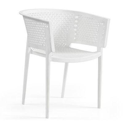 Tuinstoel Rosa armchair white