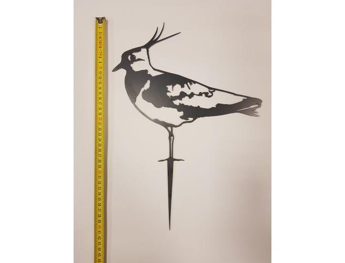 Afbeelding van Vogel Cortenstaal - Kievit