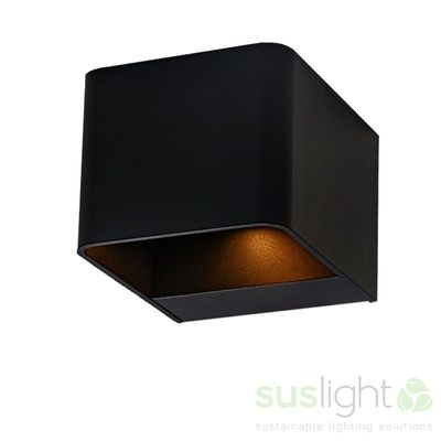 Foto van ​Sus Square Black- 230V 4.0Watt