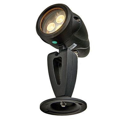 LED Spot Sus Big Tops Zwart - 24V 3.6Watt