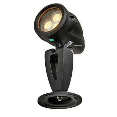 Foto van LED Spot Sus Big Tops Zwart - 24V 3.6Watt
