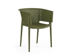 Foto van Tuinstoel Rosa armchair olijf groen