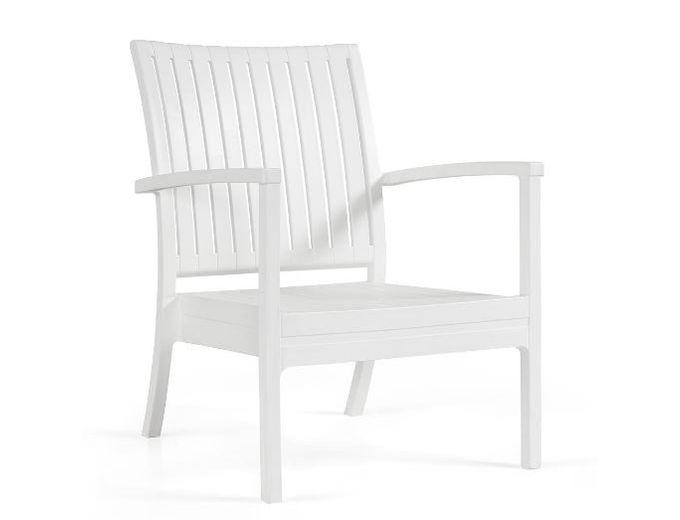 Afbeelding van Bram low chair wit