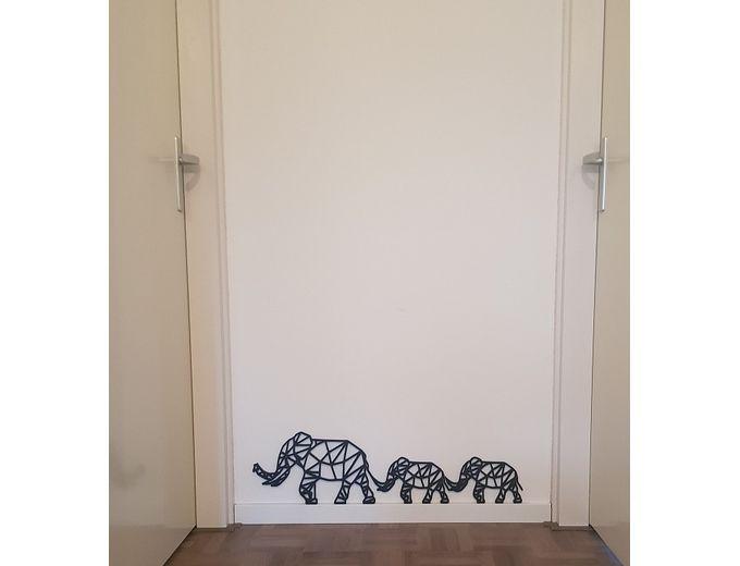 Afbeelding van Olifanten (per set van 3 stuks)