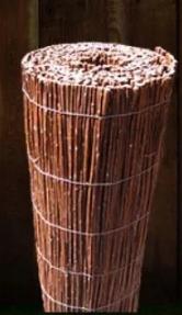 Afbeelding van Wilgenmat op rol - 100 cm hoog