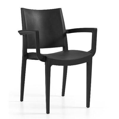 Tuinstoel Annelies armchair black