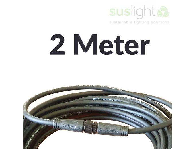 Afbeelding van 2 Meter - Q-S Connect 2 Aderig Stroomkabels 24V